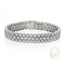 18K DIAMOND BRACELET OCA34701