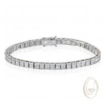 18K DIAMOND BRACELET OCA35640