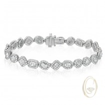 18K FANCY DIAMOND BRACELET OCA39150