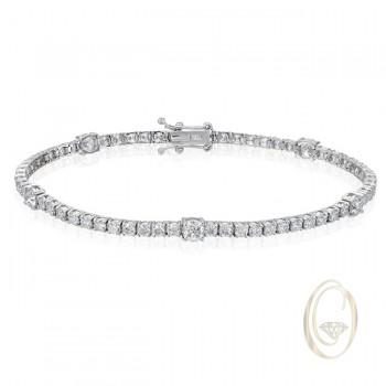 18K DIAMOND BRACELET OCA38432