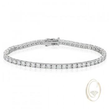 18K DIAMOND BRACELET OCA38530